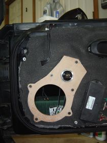 Corvette C5/C6 Speaker Mounts
